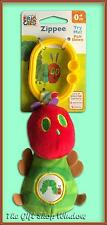 THE VERY HUNGRY CATERPILLAR ZIPPEE PULL ATTACHABLE COT PRAM CAR SEAT TOY GIFT