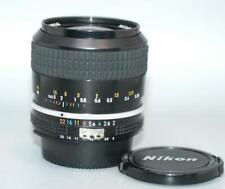 Nikon 28mm f2 Ai Nikkor manual focus fast lens for film & DSLR camera Nice Mint-