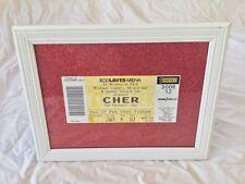 Cher Concert ticket The Farewell Tour Rod Laver Arena Melbourne Park