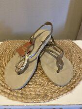 NEW!! Havaianas  - Luna Sandals Women's Size 8 - Champagne
