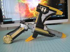 Power Rangers Lightspeed Rescue Titanium Laser Blaster Gun Axe 1999 Bandai Rare