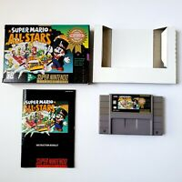 Super Mario All-Stars (Super Nintendo Entertainment System) Complete Tested