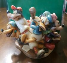 Harmony Kingdom Disney Sports Figurine Box Le 500 Mickey Donald Goofy Minnie