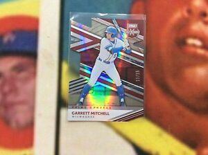 2020 Elite Extra Edition Garrett Mitchell Die-Cut #13/15 SSP Card
