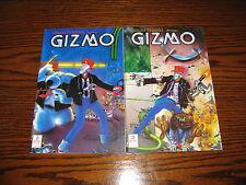 Mirage Studios - GIZMO  2,3 Comic Lot!!  1986 Glossy  VF