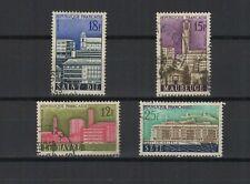 FRANCE 1958 villes reconstruites série complète de 4 timbres oblitérés /T1910