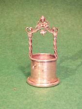 Rare Puit Miniature Argent Massif Hanau German Silver - Schleissner &Söhne 1817