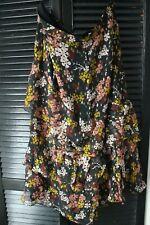 Whistles Clover Floral Silk mix  Dress Skirt 18