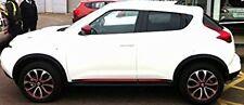 Nissan Juke Pair of Side Door Sills Force Red + Tailgate Lower Trim KE6001K012RD