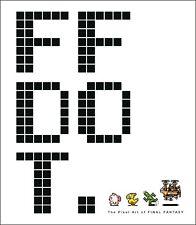 Ff Dot Pixel Art of Final Fantasy Hardcover Art Book Final Fantasy Dot New Mint
