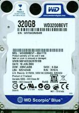 WD3200BEVT-00A1TT0,  DCM HBNTJABB,   WXF0  WESTERN DIGITAL SATA 320GB
