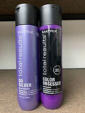 Matrix Total Results So Silver Color Obsessed Shampoo & Conditioner 10.1oz DUO!