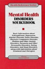 Mental Health Disorders Sourcebook: Basic Information About Schizophre-ExLibrary