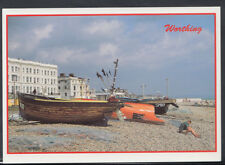 Sussex Postcard - Worthing Beach   T1174