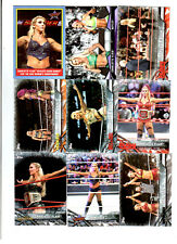 Charlotte Wrestling Lot of 9 Different Trading Cards 1 Insert WWE NXT C-N1