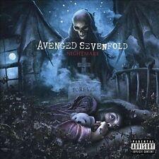 Nightmare [PA] by Avenged Sevenfold (CD, Jul-2010, Warner Bros.) (B4)