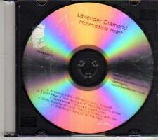 (DH390) Lavender Diamond, Incorruptible Heart - 2012 DJ CD