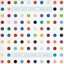 Love Lust Faith + Dreams [Clean] by Thirty Seconds to Mars (CD, May-2013, Virgin)