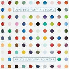 30 Seconds to Mars - Love Lust Faith & Dreams [CD & DVD] FREE SHIPPING!!!