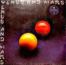 WINGS venus and mars LP 1975 rock show/medicine jar VG+