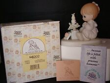 My True Love Gave To Me # 529273 Precious Moments 1996 Enesco MIB Heart 1ST Mark
