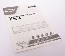 New listing Sl260A User Manual Operating Instructions
