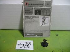 Axis & Allies Base Set SS-Panzergrenadier with card 39/48