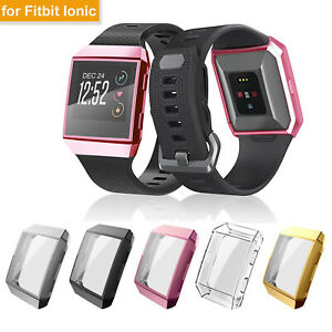 Screen Protector Protective Case Cover For Fitbit Ionic Smart Watch