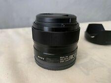 Sony SEL 35mm f/1.8 OSS Lens MINT