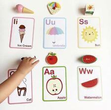 ABC Flashcards - Learning Cards - Montessori - Alphabet Flash Cards - Preschool