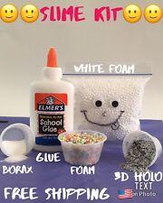 Elmer's School Glue, Washable, 4 Ounces Slime Kit