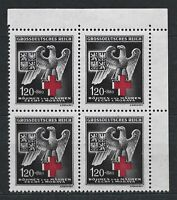 Nazi WWII Germany Rare WW2 Stamps MNH 1942 Swastika Eagle Empire Red Cross War 2
