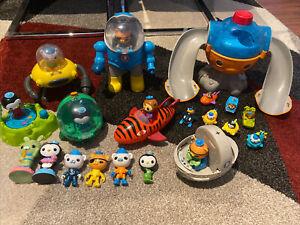The Octonauts Toys Assorted Bulk Lot Figures Launcher Speeders Gup Mattel