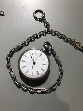 UNIQUE Qing Dynasty Chinese Duplex Bovet Pocket Watch Including Chains and Keys