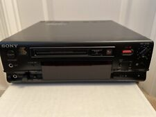 Sony MiniDisc Recorder Mds-101 For Parts Only/As Is,aesthetically Mint exterior!