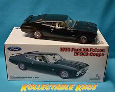 1:18 Classics - 1973 Ford XA Falcon RPO83 Coupe Onyx Black L.E. 3750  NEW IN BOX