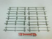 BK321-1# 10x Märklin Spur 0 Gleis/Gleisstück gerade (26 cm) für Uhrwerk-Betrieb