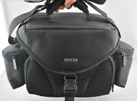 Black Digital SLR Camera Shoulder Carry Case Bag For Nikon Canon --free shipping