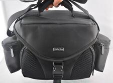 Black Digital SLR Camera Shoulder Carry Case Bag for Nikon Canon