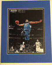 KARL-ANTHONY TOWNS 2015-2016 MINNESOTA TIMBERWOLVES 8X10 ACTION PHOTO MATTED