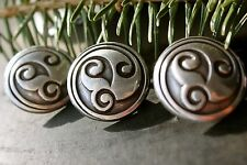 """1"""" Abstract Celtic Screwback Concho 1 Piece Package"""