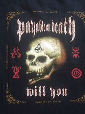 VTG. 2003 POD Payable On Death Will You ? USA 34 Cities Men's Rare T Shirt M