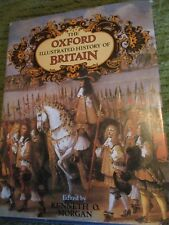 Original 1984 OXFORD ILLUSTRATED HISTORY OF BRITAIN Hardcover 640 pgs 345A0