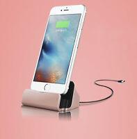 Station D'Accueil Chargeur de Câble Pour Apple IPHONE Dock Rose