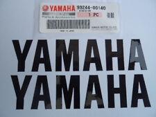Yamaha GENUINE Fairing & Tank Stickers BLACK 150 x 35mm YZF125 R3 R6 R1 FAZER