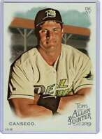 Jose Canseco 2019 Allen and Ginter 5x7 #95 /49 Devil Rays