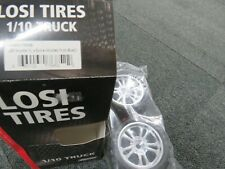 Team losi losa17686B 320s smasher xl spoked chrome 1/10th wheels and tyres