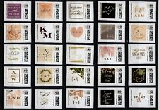 LOT OF 25 PERSONALIZED INVITATIONS CVP COMPUTER POSTAGE STAMPS.COM & MINTED.COM