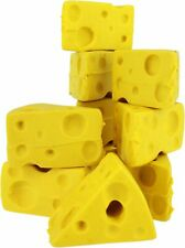 Cheese Wedge Pencil Erasers-10 Pack