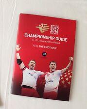 Media Guide handball EHF Euro european championship 2016 Poland men